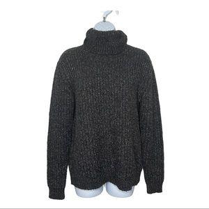 Joe Fresh Marled Turtleneck Sweater Size XL